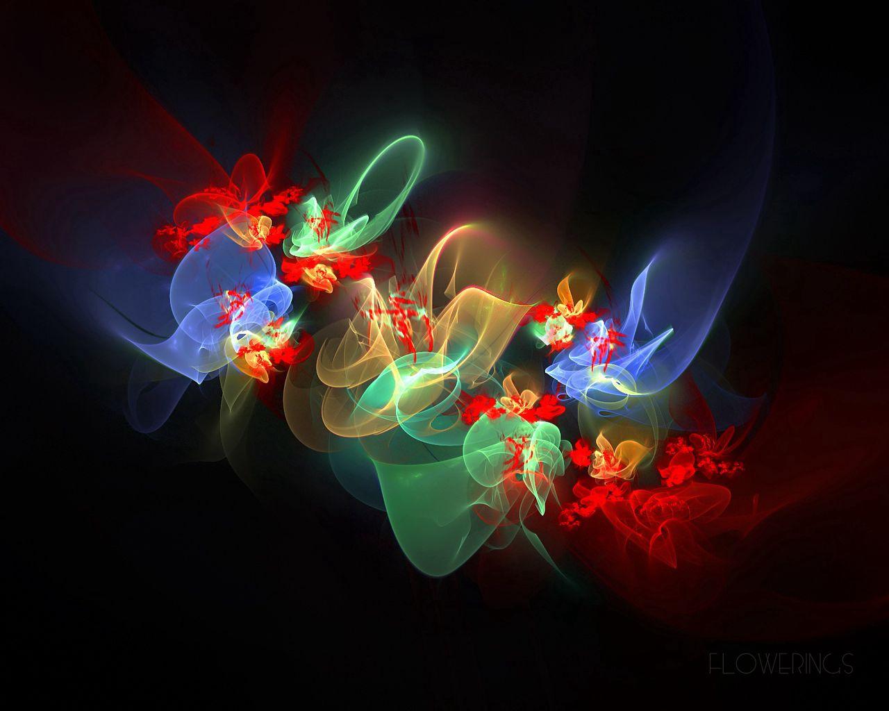 87251 обои 1080x2400 на телефон бесплатно, скачать картинки Абстракция, Цветы, Дым, Узоры, Блики, Разноцветный, Цветение, Фрактал 1080x2400 на мобильный