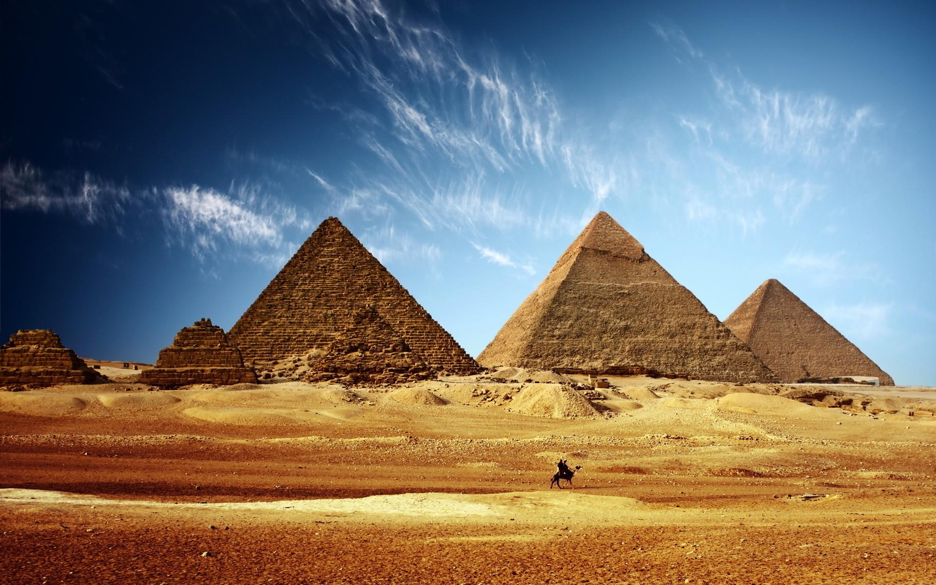 50286 Заставки и Обои Объекты на телефон. Скачать Объекты, Египет, Пейзаж, Пирамиды картинки бесплатно