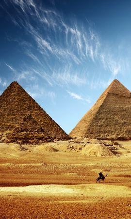 50286 скачать обои Пейзаж, Объекты, Пирамиды, Египет - заставки и картинки бесплатно