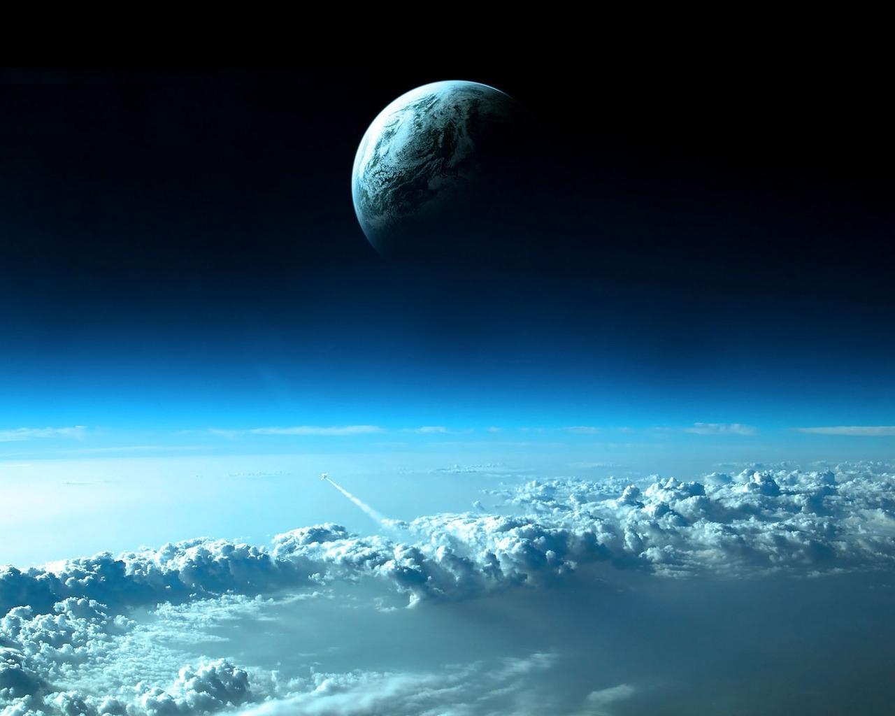 Handy-Wallpaper Landschaft, Sky, Planets kostenlos herunterladen.