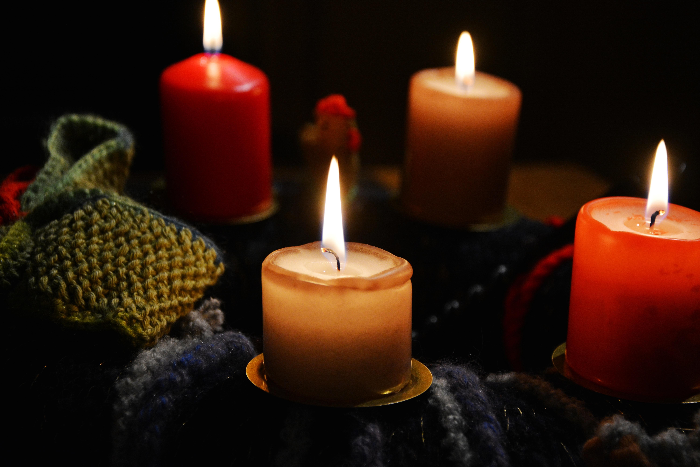Завантажити картинку 91381: Свічки, Полум'я, Різне, Віск шпалери на робочий стіл безкоштовно