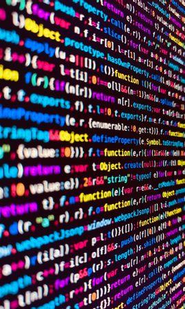お使いの携帯電話の78366スクリーンセーバーと壁紙テクノロジー。 テクノロジー, コード, テキスト, 色とりどり, モトリー, 記号, 文字, プログラミングの写真を無料でダウンロード