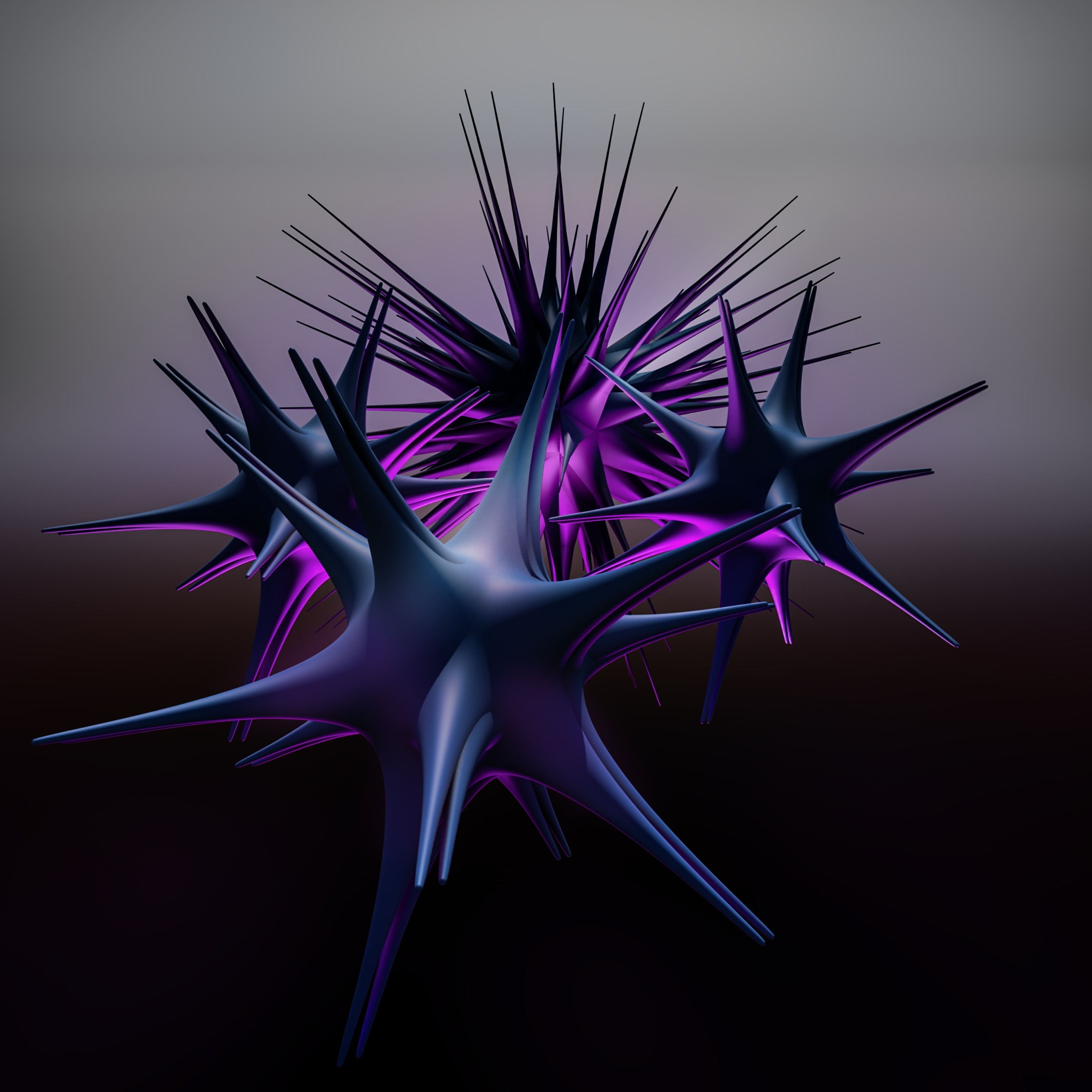 120749 download wallpaper Structure, 3D, Form, Barbed, Spiny, Acute, Sharp screensavers and pictures for free