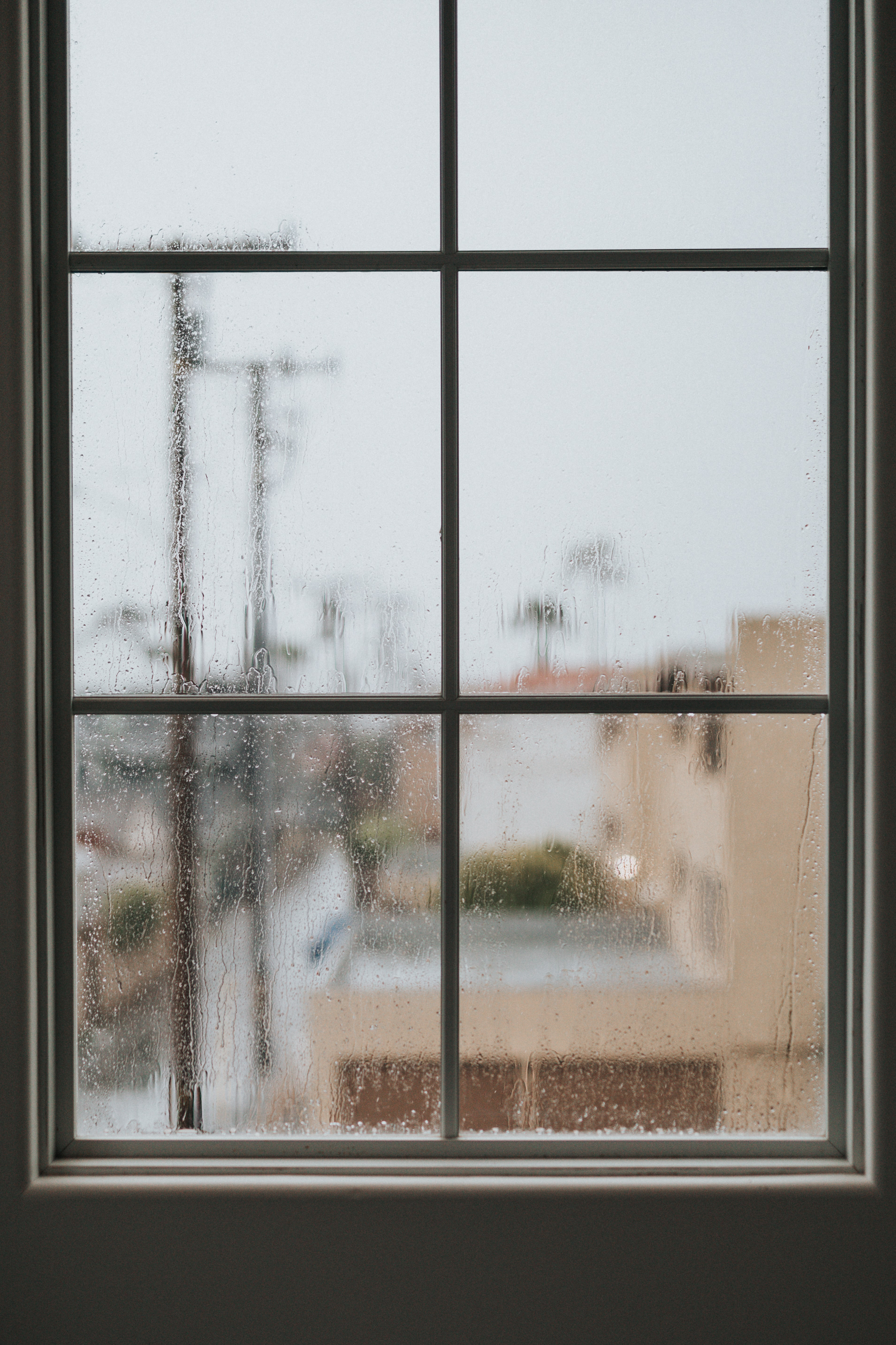 151685 download wallpaper Miscellanea, Miscellaneous, Window, Drops, Glass, Frame screensavers and pictures for free