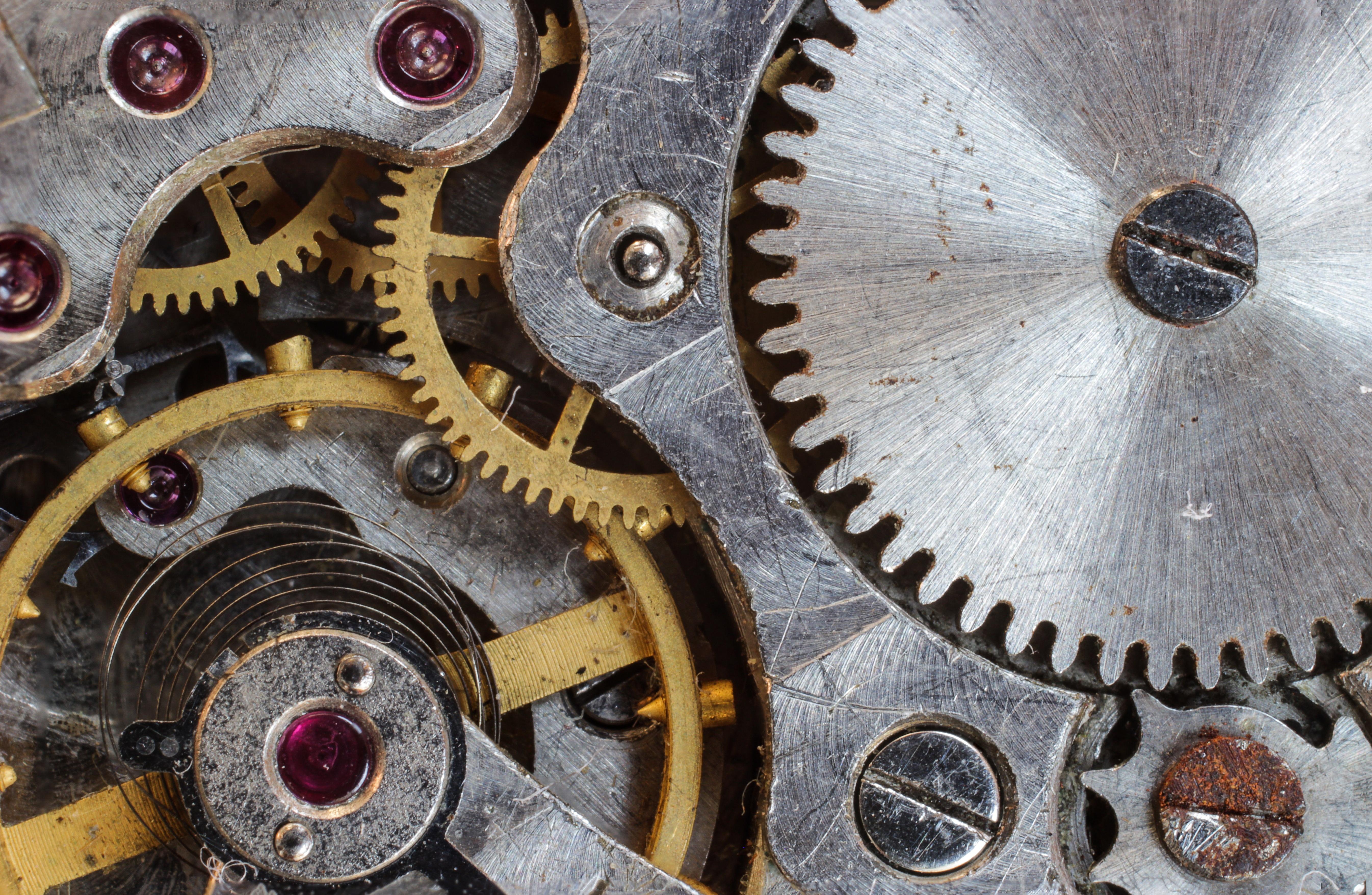 155487 Hintergrundbild herunterladen Sonstige, Verschiedenes, Mechanismus, Fokus, Motor, Getriebe, Zahnräder - Bildschirmschoner und Bilder kostenlos