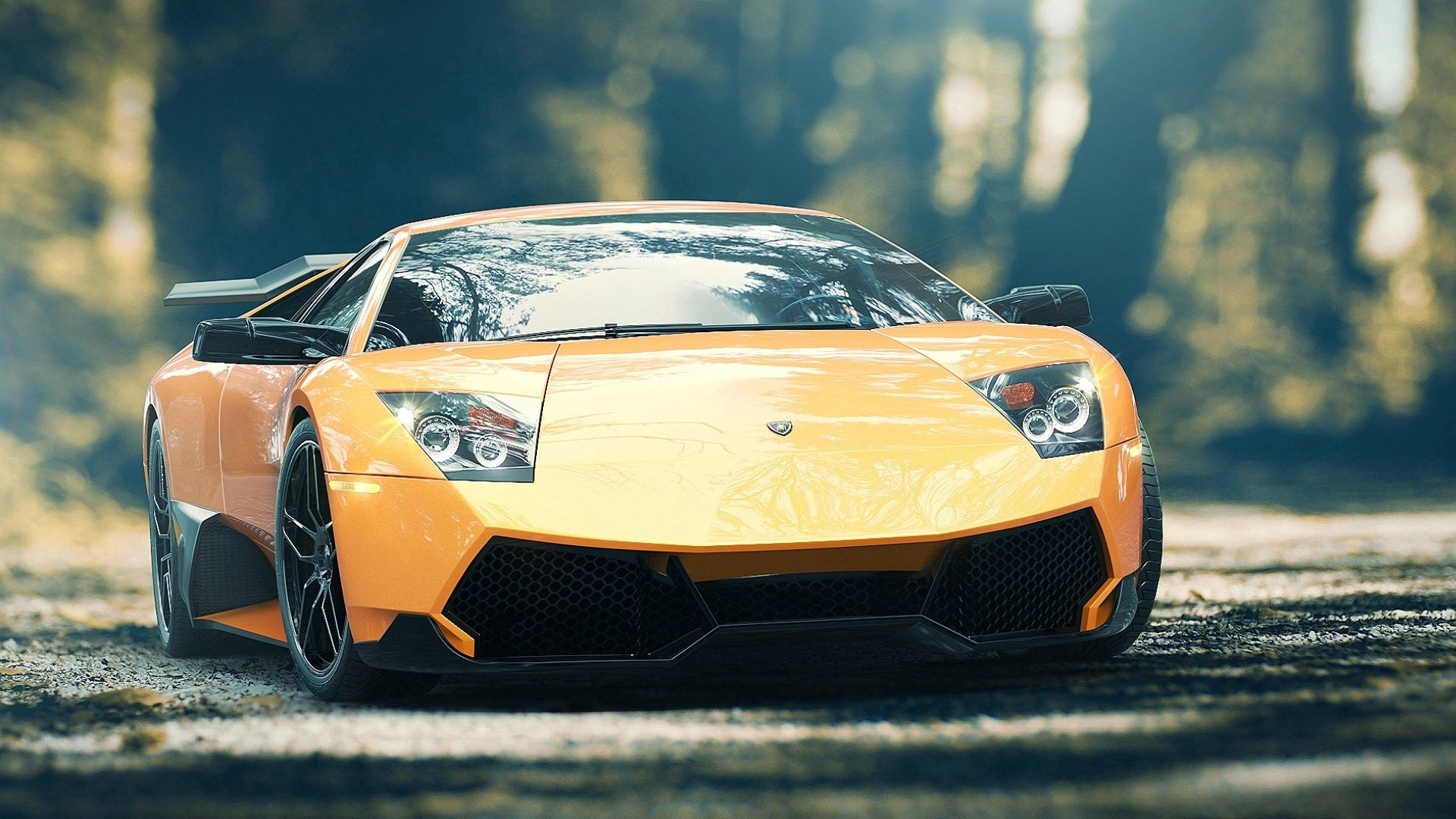 158111 Screensavers and Wallpapers Front View for phone. Download Lamborghini, Cars, Car, Front View, Machine, Murcielago, Lp670-4 pictures for free