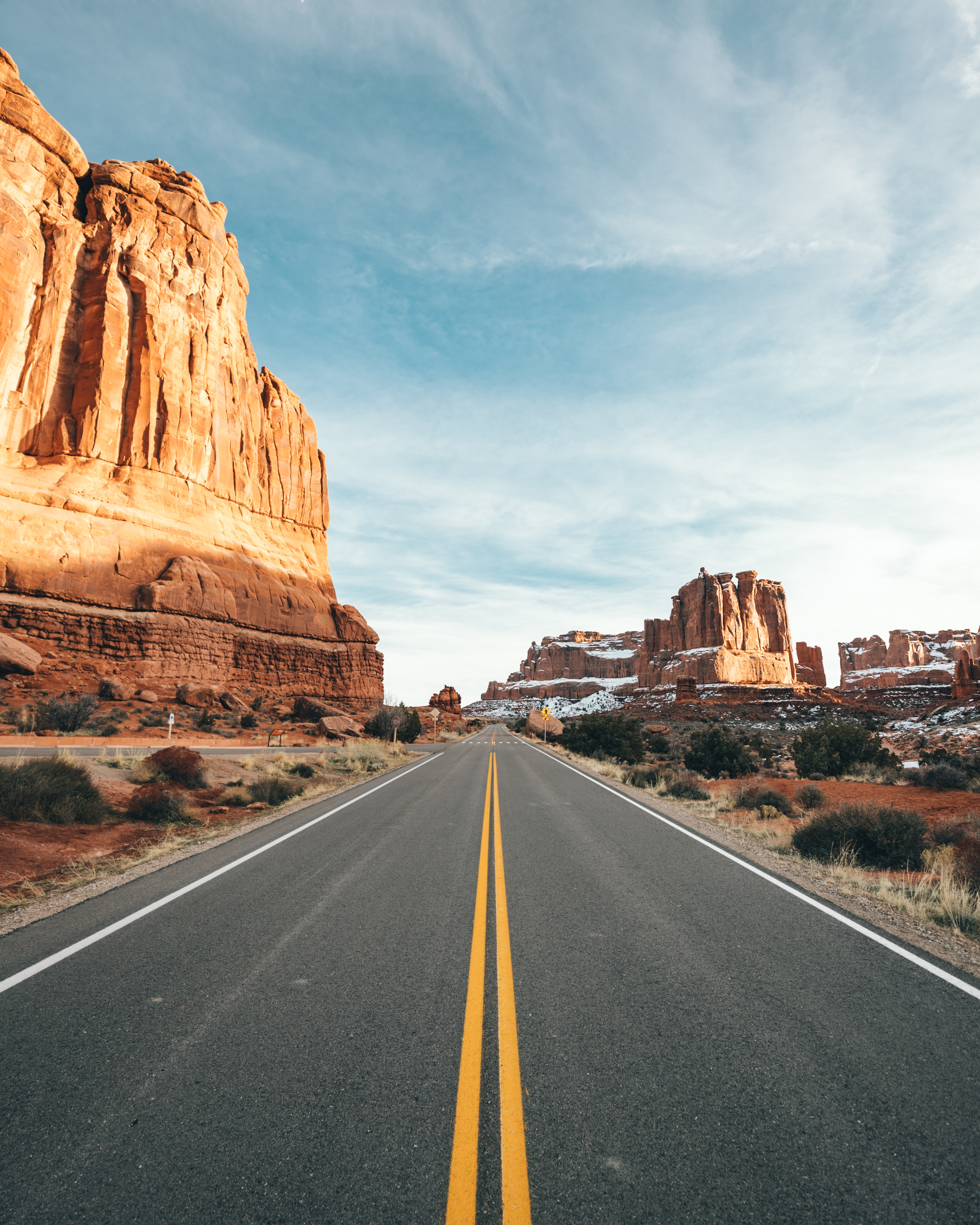 67282 download wallpaper Road, Canyon, Rocks, Nature, Desert screensavers and pictures for free