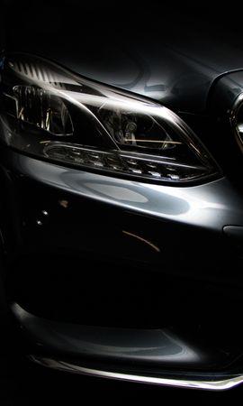 151032 télécharger le fond d'écran Voitures, Mercedes Classe E, Mercedes, Phare, Vue De Face, Argent, Argenté, Sombre, Pare-Chocs - économiseurs d'écran et images gratuitement