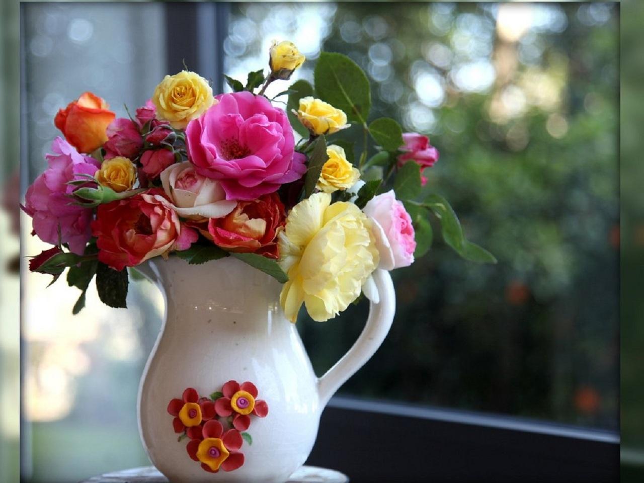 33562 скачать обои Растения, Цветы, Букеты - заставки и картинки бесплатно