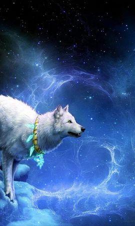 16406 baixar papel de parede Animais, Lobos, Fantasia - protetores de tela e imagens gratuitamente