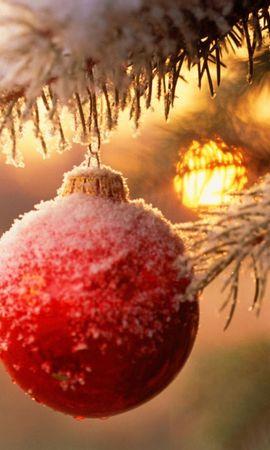 2226 télécharger le fond d'écran Fêtes, Nouvelle Année, Jouets, Neige, Noël - économiseurs d'écran et images gratuitement