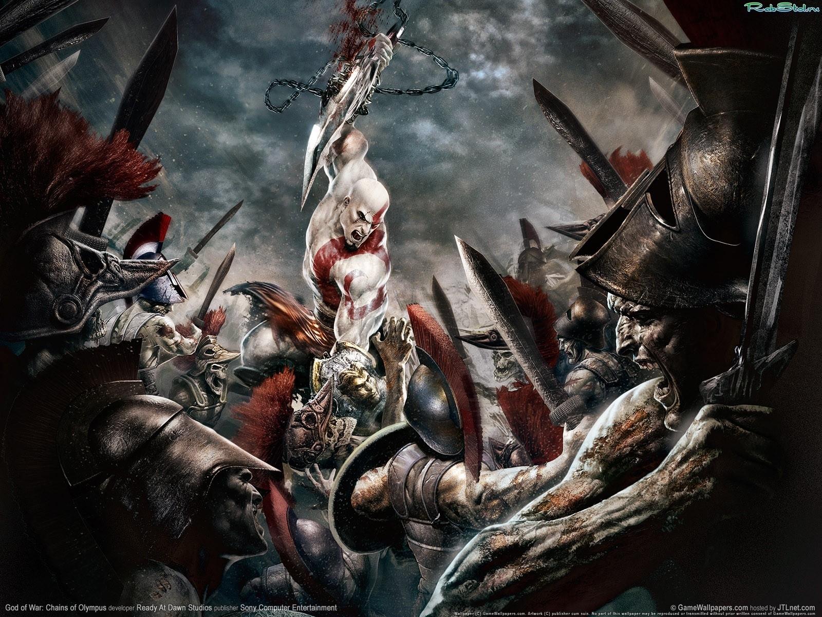 3725 baixar papel de parede Jogos, God Of War - protetores de tela e imagens gratuitamente