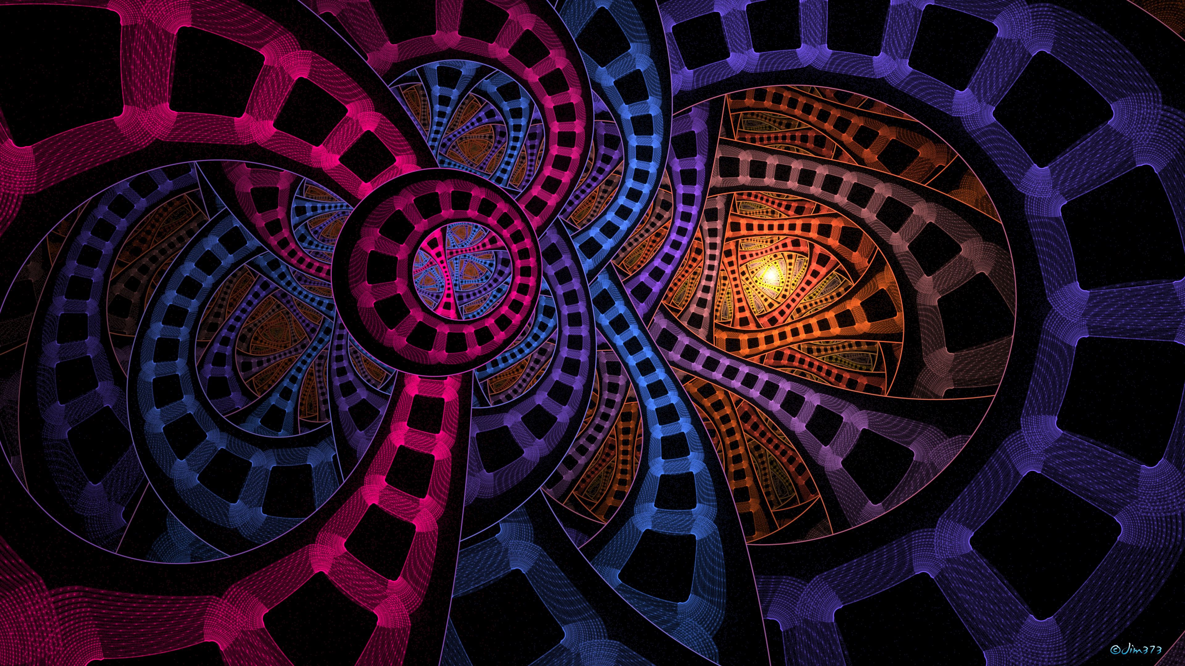110382 download wallpaper Abstract, Fractal, Multicolored, Motley, Weave, Confused, Intricate screensavers and pictures for free