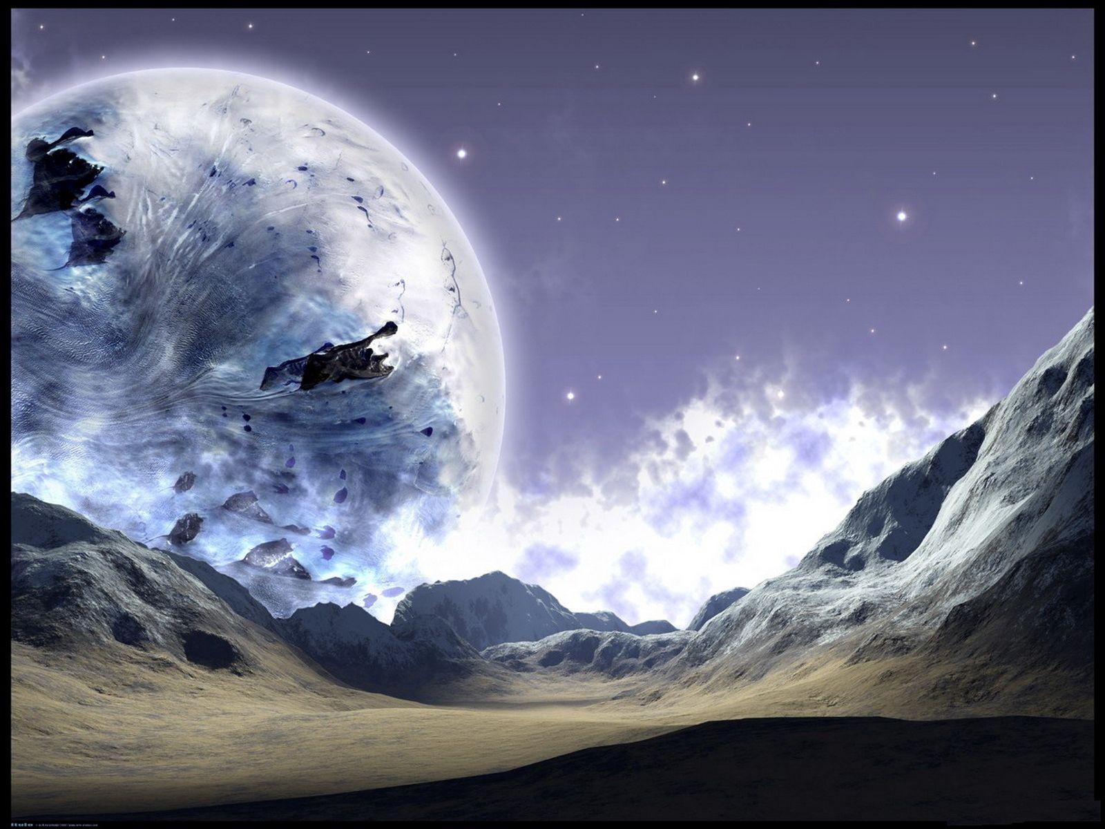 90059 скачать обои Холод, Мерзлота, Планета, Поверхность, Космос - заставки и картинки бесплатно