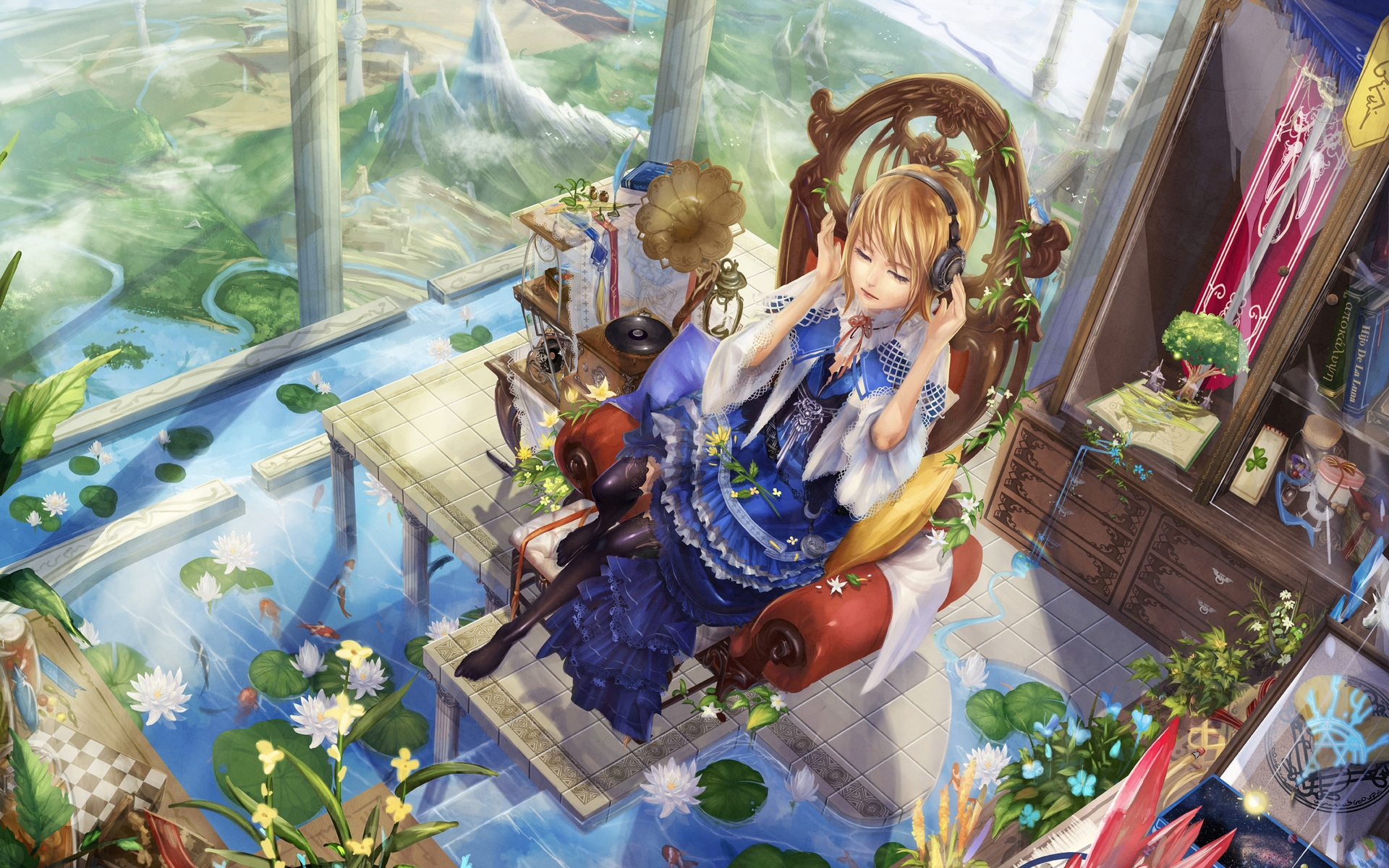 38176 download wallpaper Anime, Girls screensavers and pictures for free