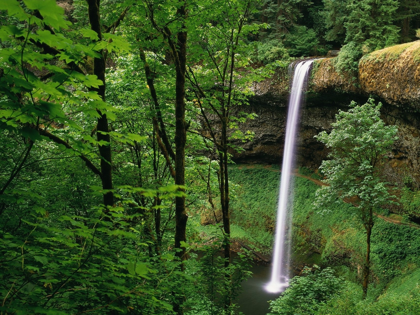 29649 download wallpaper Landscape, Waterfalls screensavers and pictures for free