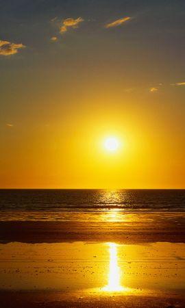 13963 скачать обои Пейзаж, Закат, Море, Солнце - заставки и картинки бесплатно