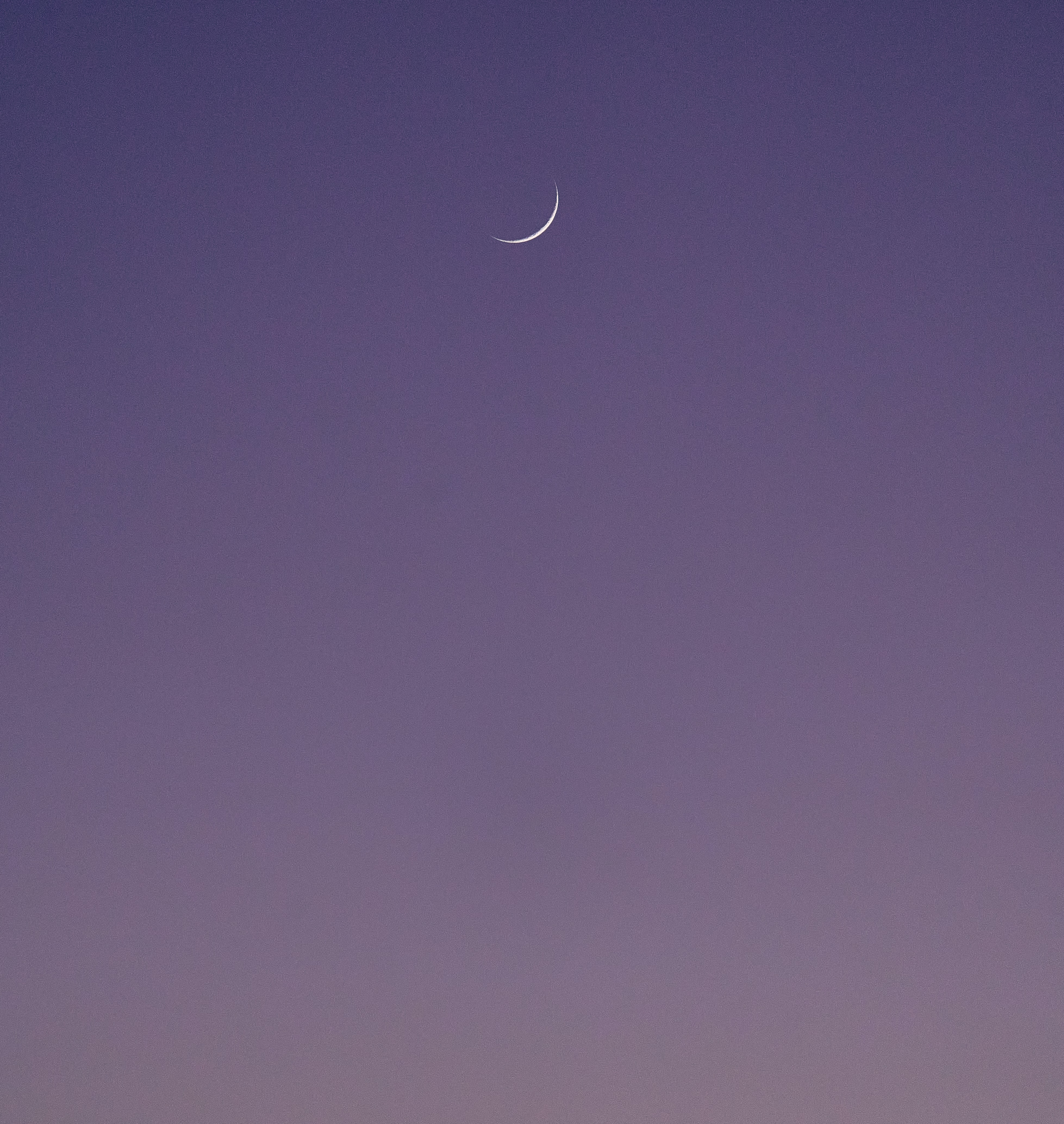 93890 Screensavers and Wallpapers Purple for phone. Download Sky, Moon, Violet, Minimalism, Purple pictures for free