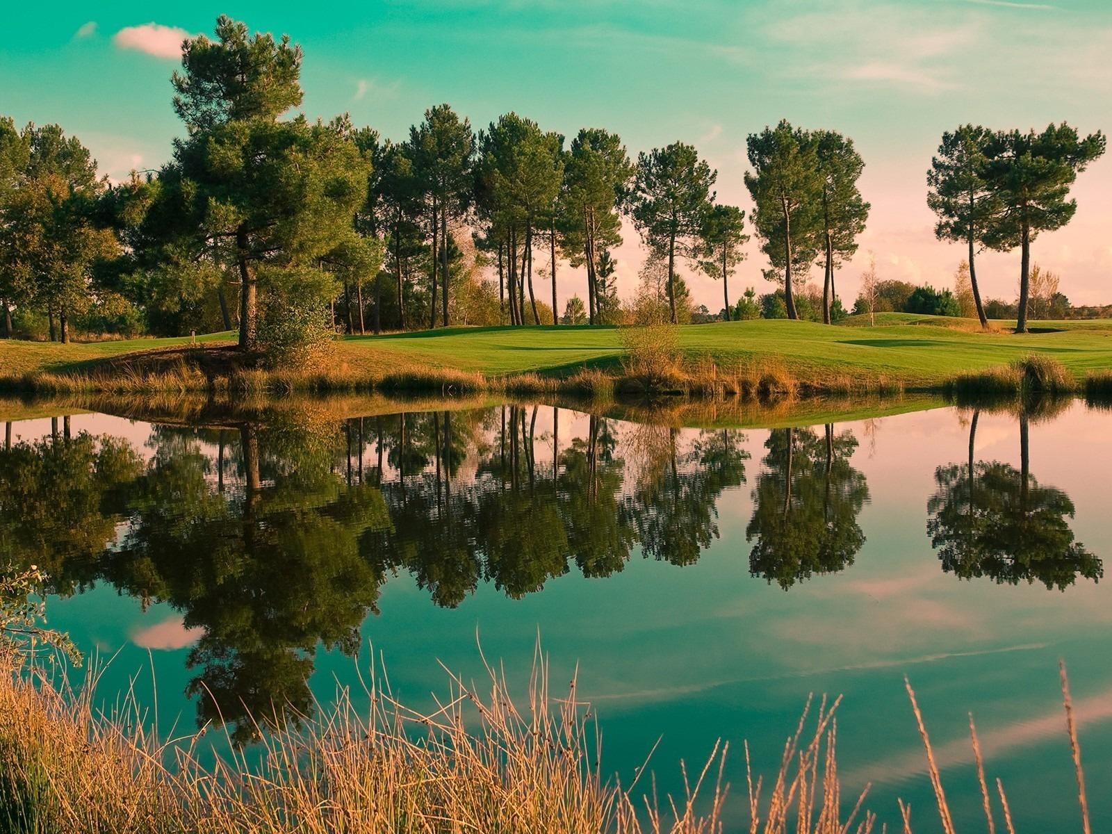 23167 Заставки и Обои Озера на телефон. Скачать Озера, Пейзаж, Деревья картинки бесплатно
