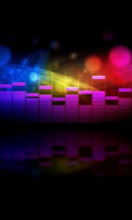22459 descargar fondo de pantalla Música, Fondo, Arco Iris: protectores de pantalla e imágenes gratis