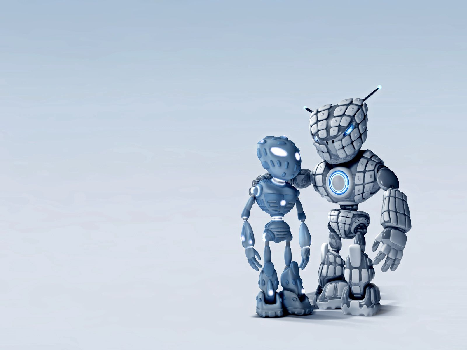133783 Screensavers and Wallpapers Robots for phone. Download 3D, Couple, Pair, Device, Background, Robots pictures for free