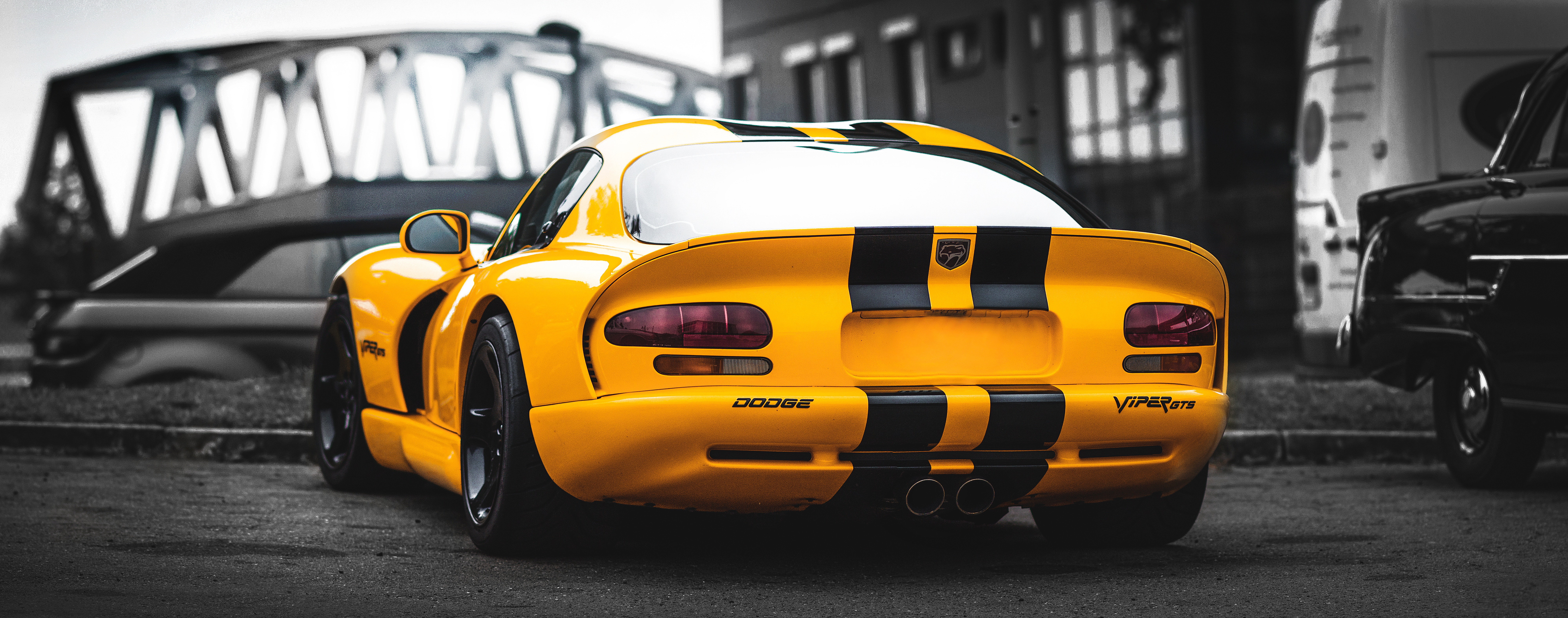 126338 download wallpaper Cars, Auto, Sports Car, Sports, Back View, Rear View screensavers and pictures for free
