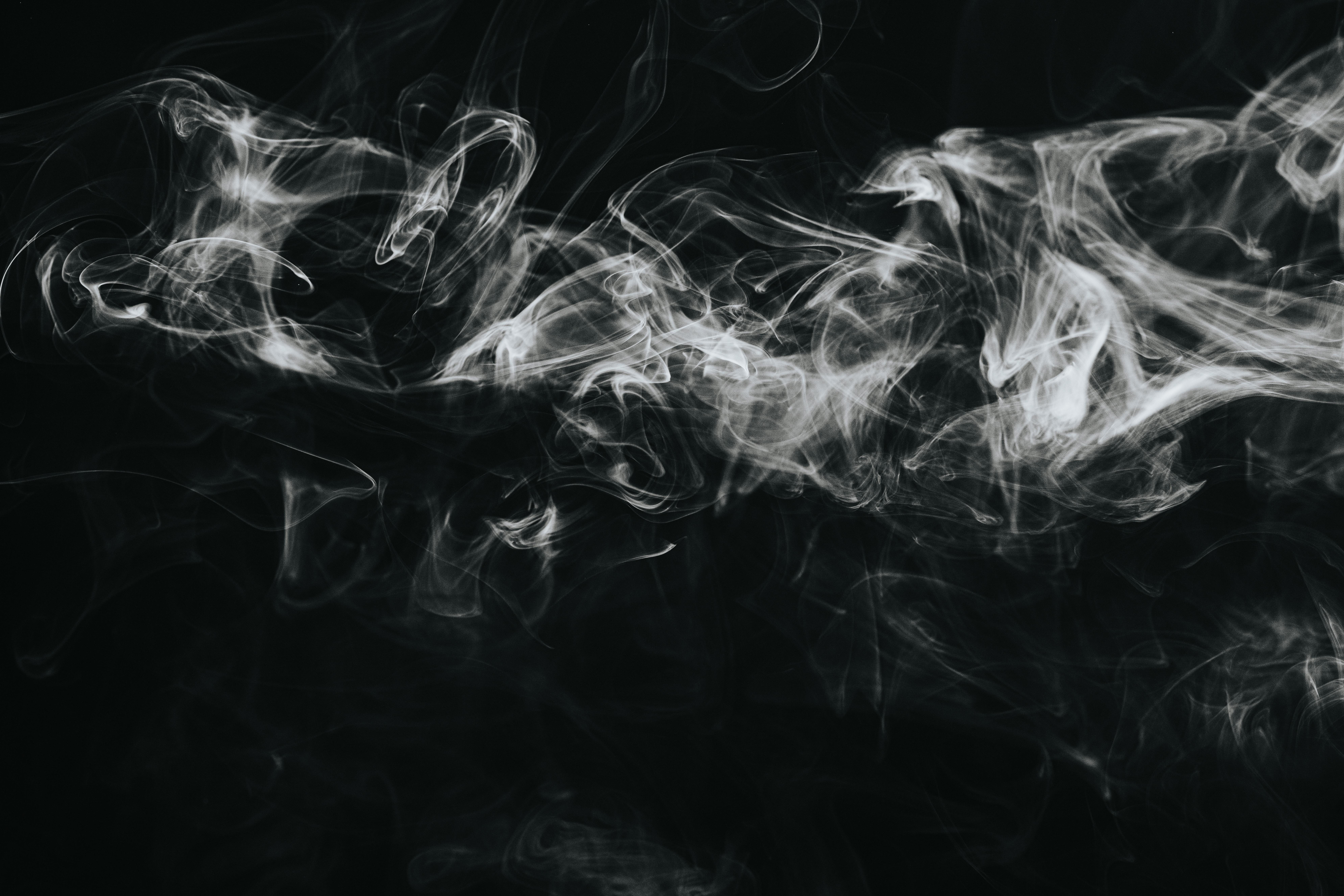 153537 baixar papel de parede Abstrato, Nuvem, Preto E Branco, Preto-E-Branco, Bw, Chb, Fumar - protetores de tela e imagens gratuitamente