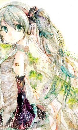 40680 baixar papel de parede Anime, Meninas, Vocaloids - protetores de tela e imagens gratuitamente
