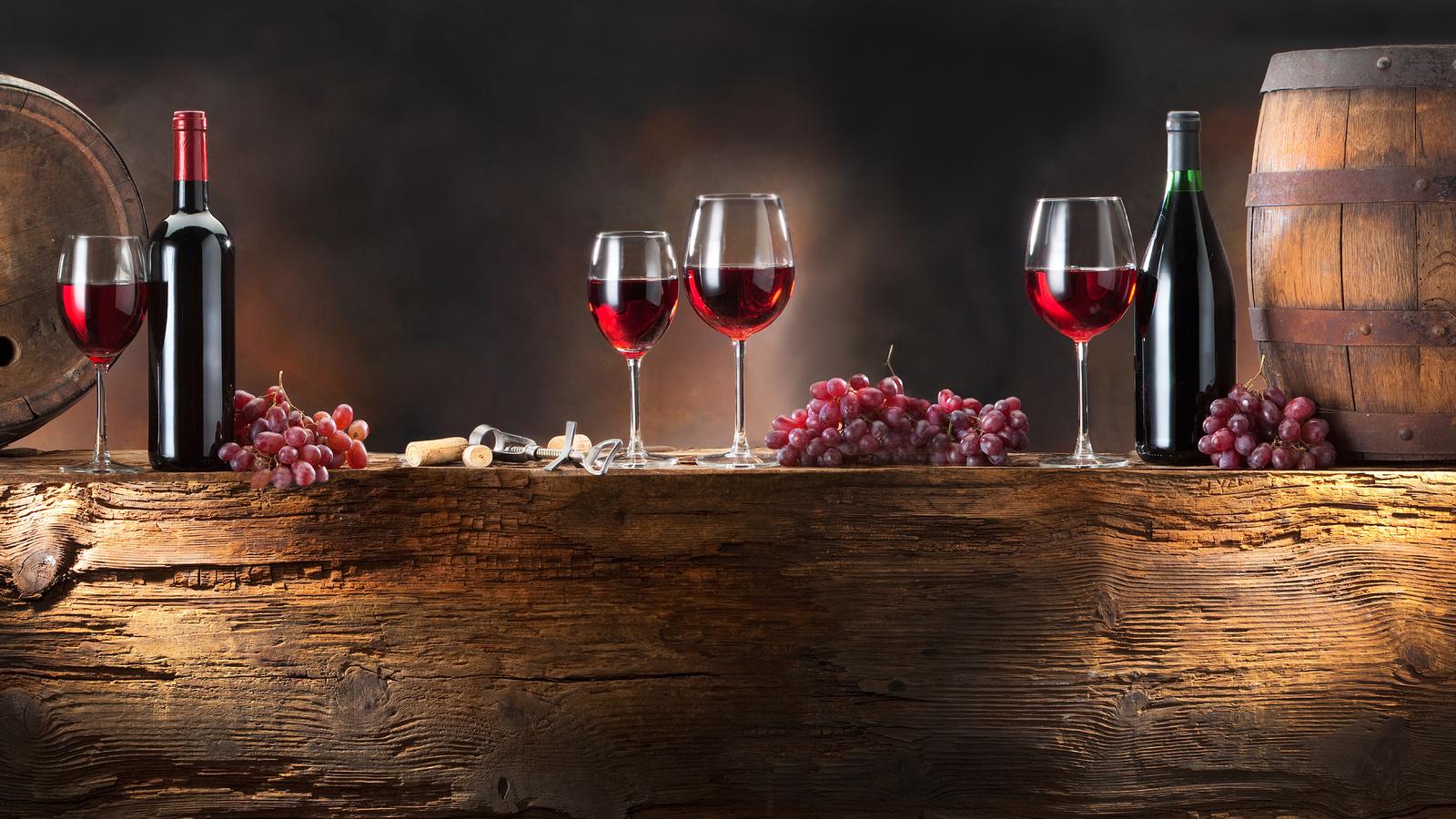 20871 скачать обои Еда, Виноград, Вино - заставки и картинки бесплатно