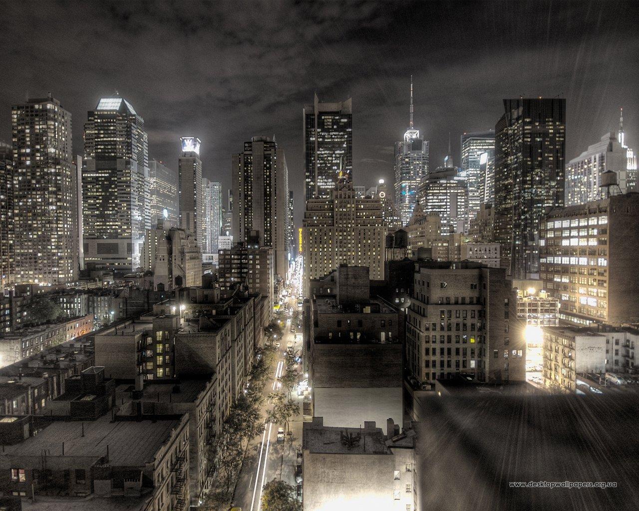 13622 скачать обои Пейзаж, Города, Ночь - заставки и картинки бесплатно