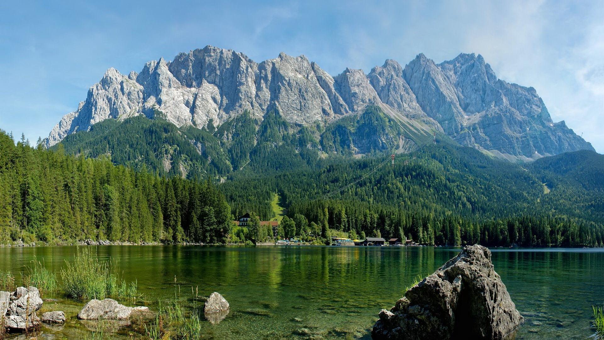 45367 Заставки и Обои Озера на телефон. Скачать Озера, Пейзаж, Природа, Горы картинки бесплатно