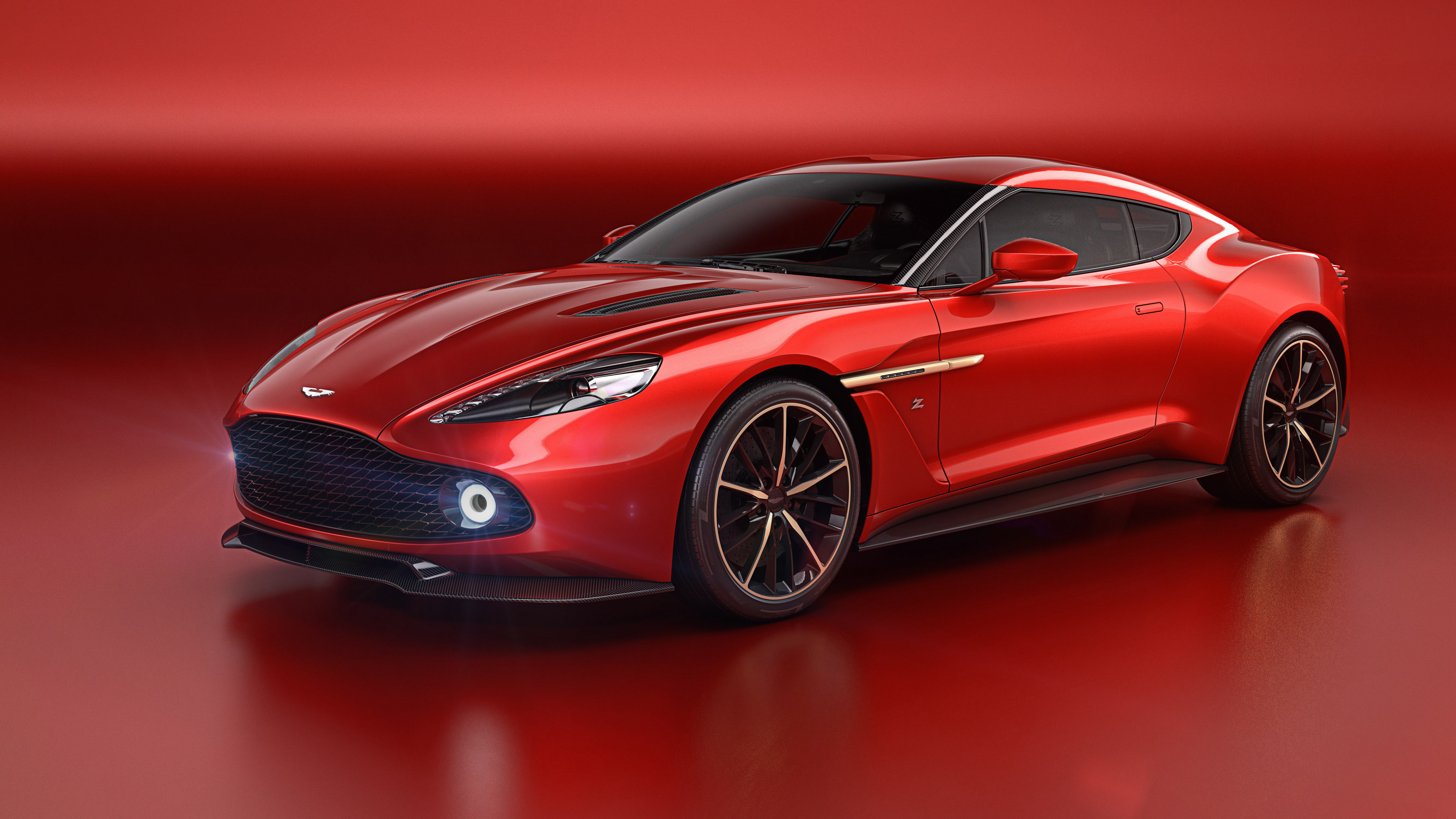 101066 download wallpaper Aston Martin, Cars, Side View, Vanquish screensavers and pictures for free