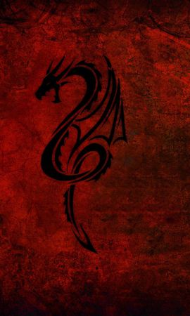 87334 download wallpaper Dark, Style, Dragon, Abstract screensavers and pictures for free
