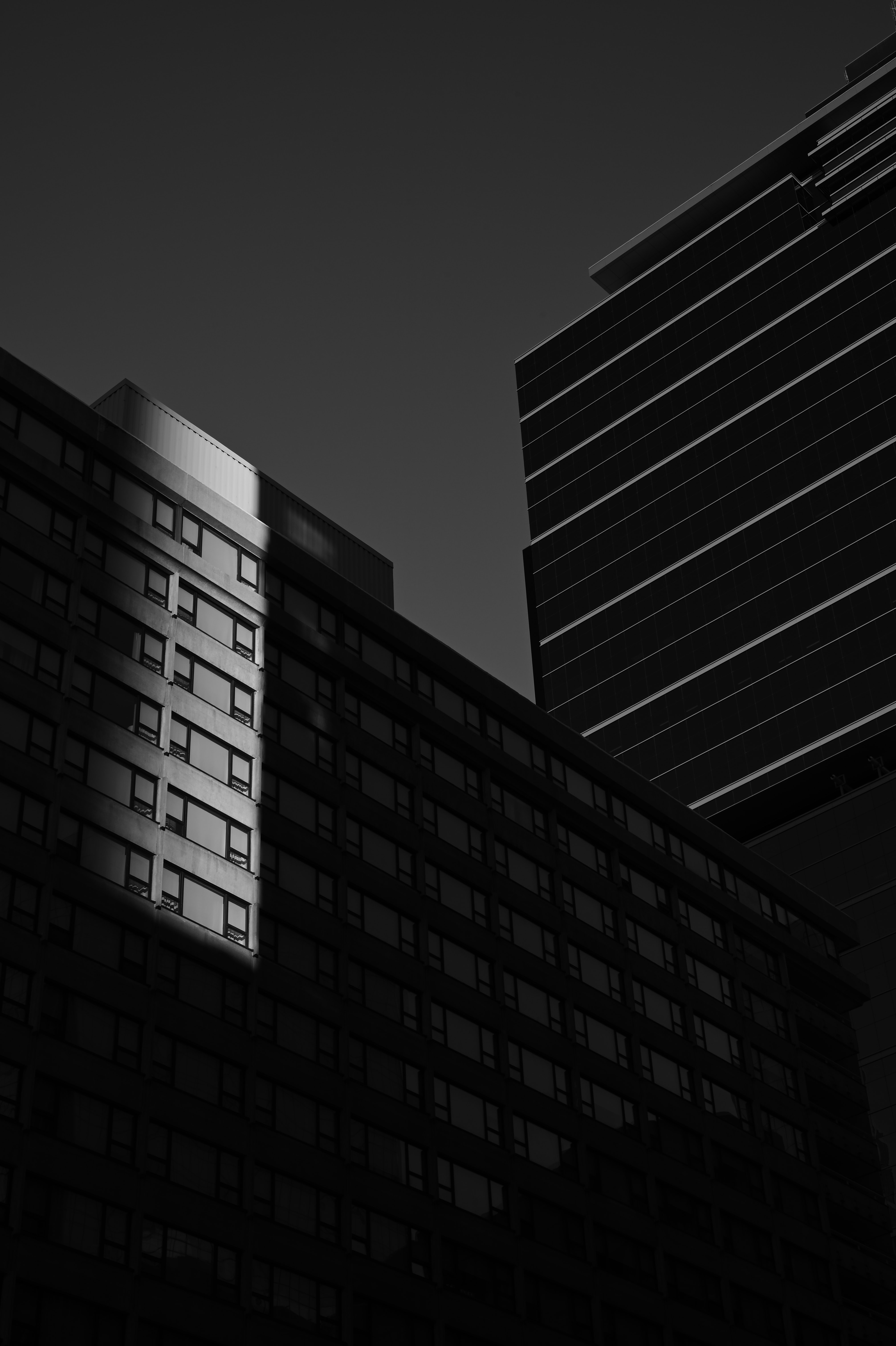 131310 download wallpaper Miscellanea, Miscellaneous, Building, Shadow, Bw, Chb, Architecture screensavers and pictures for free