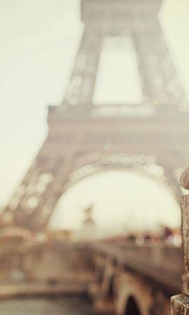 151029 baixar papel de parede Cidade, Paris, Bokeh, Boquet, Concentrando, Foco, Embaçamento, Liso, Cidades, Torre Eiffel - protetores de tela e imagens gratuitamente