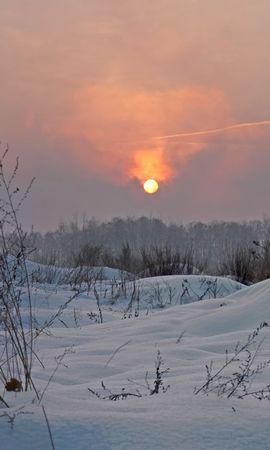 148934 Заставки и Обои Солнце на телефон. Скачать Природа, Зима, Свет, Небо, Солнце картинки бесплатно