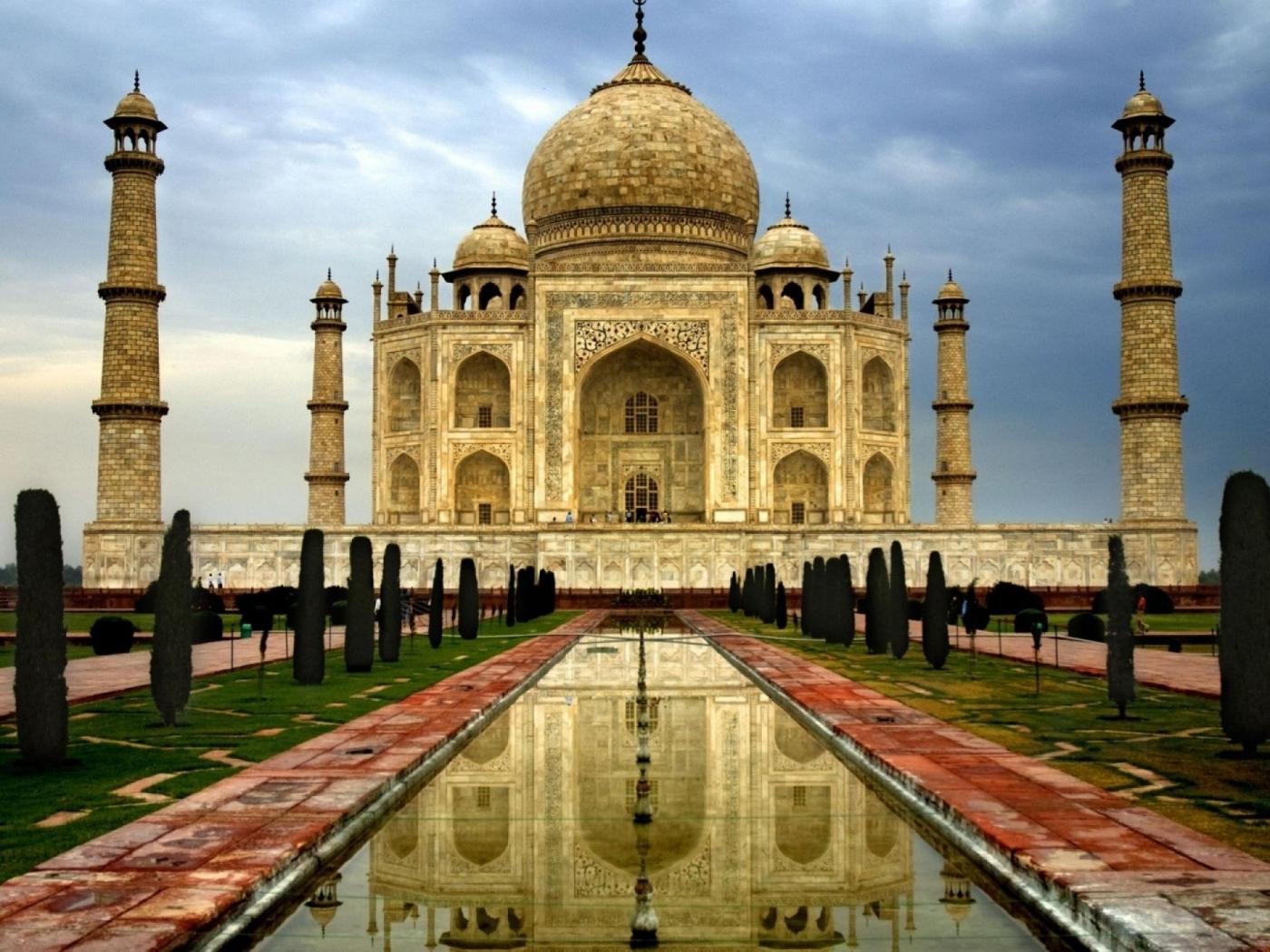 31548 скачать обои Архитектура, Тадж Махал (Taj Mahal) - заставки и картинки бесплатно
