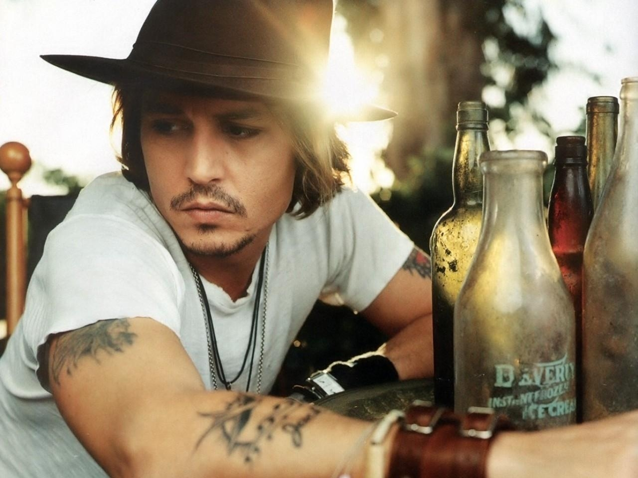 40511 download wallpaper People, Actors, Men, Johnny Depp screensavers and pictures for free