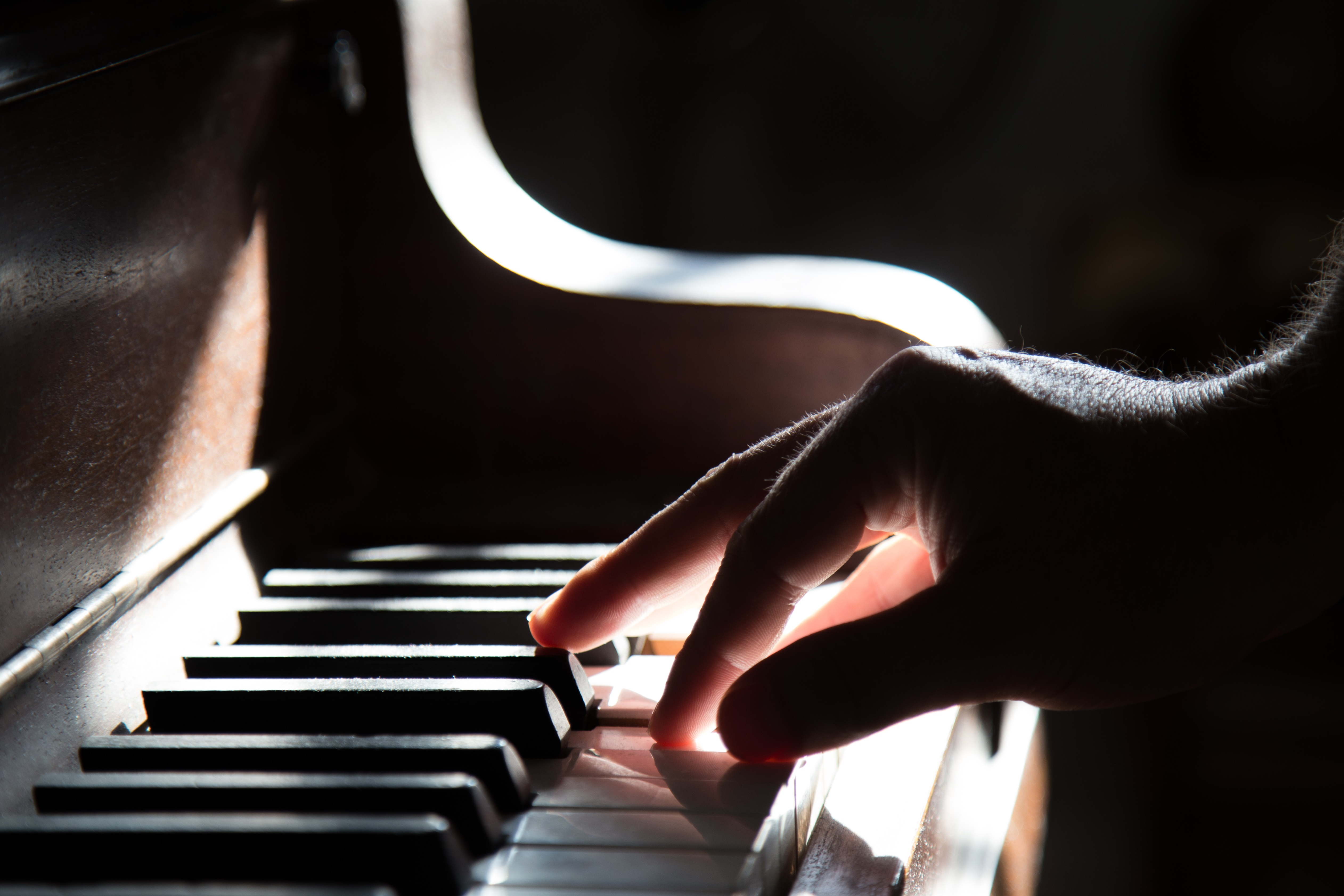 144002 Screensavers and Wallpapers Hand for phone. Download Music, Piano, Hand, Keys, Shadow pictures for free