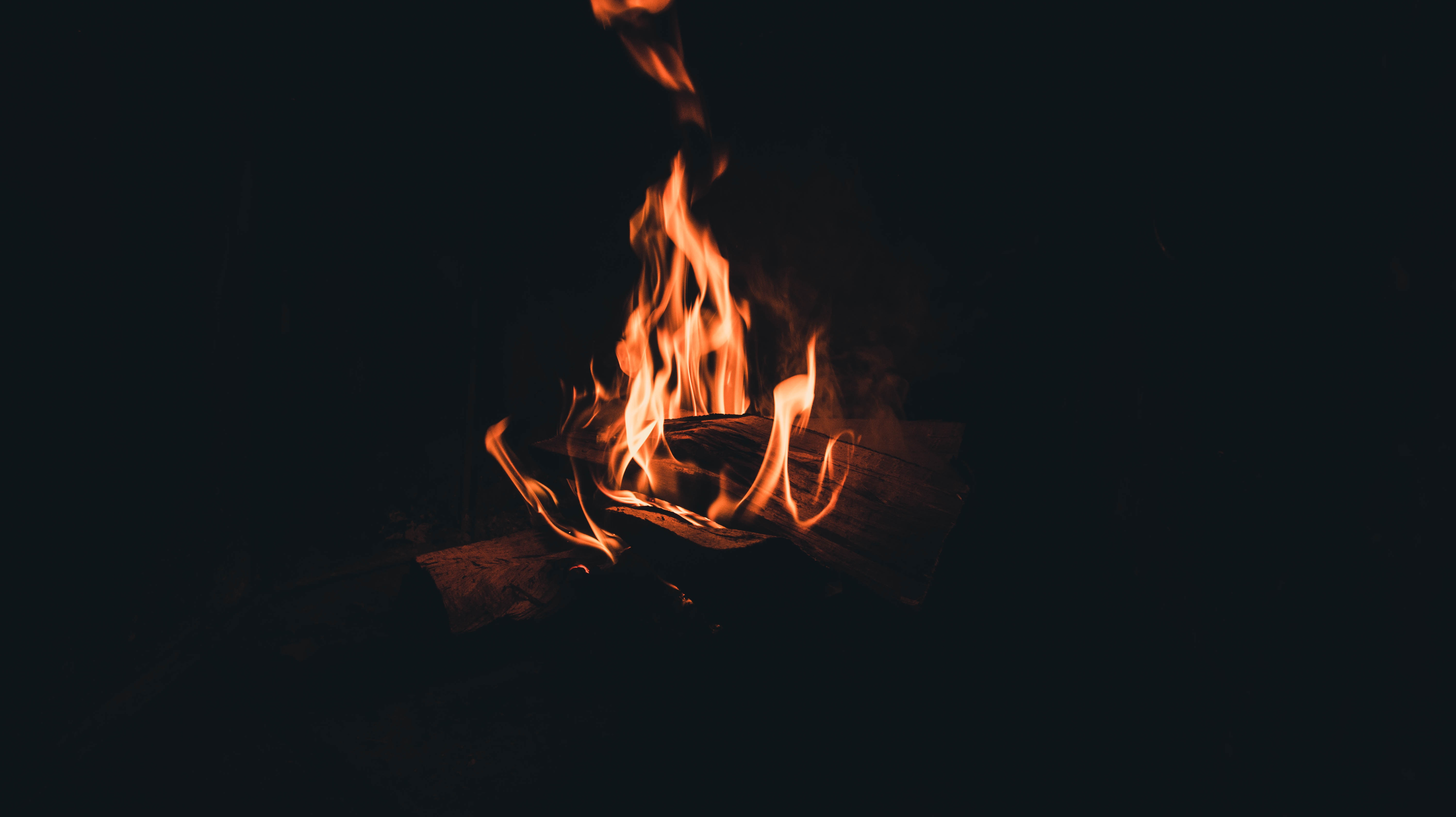 50777 Screensavers and Wallpapers Bonfire for phone. Download Darkness, Dark, Fire, Bonfire, Night, Flame, Firewood, Darkly pictures for free