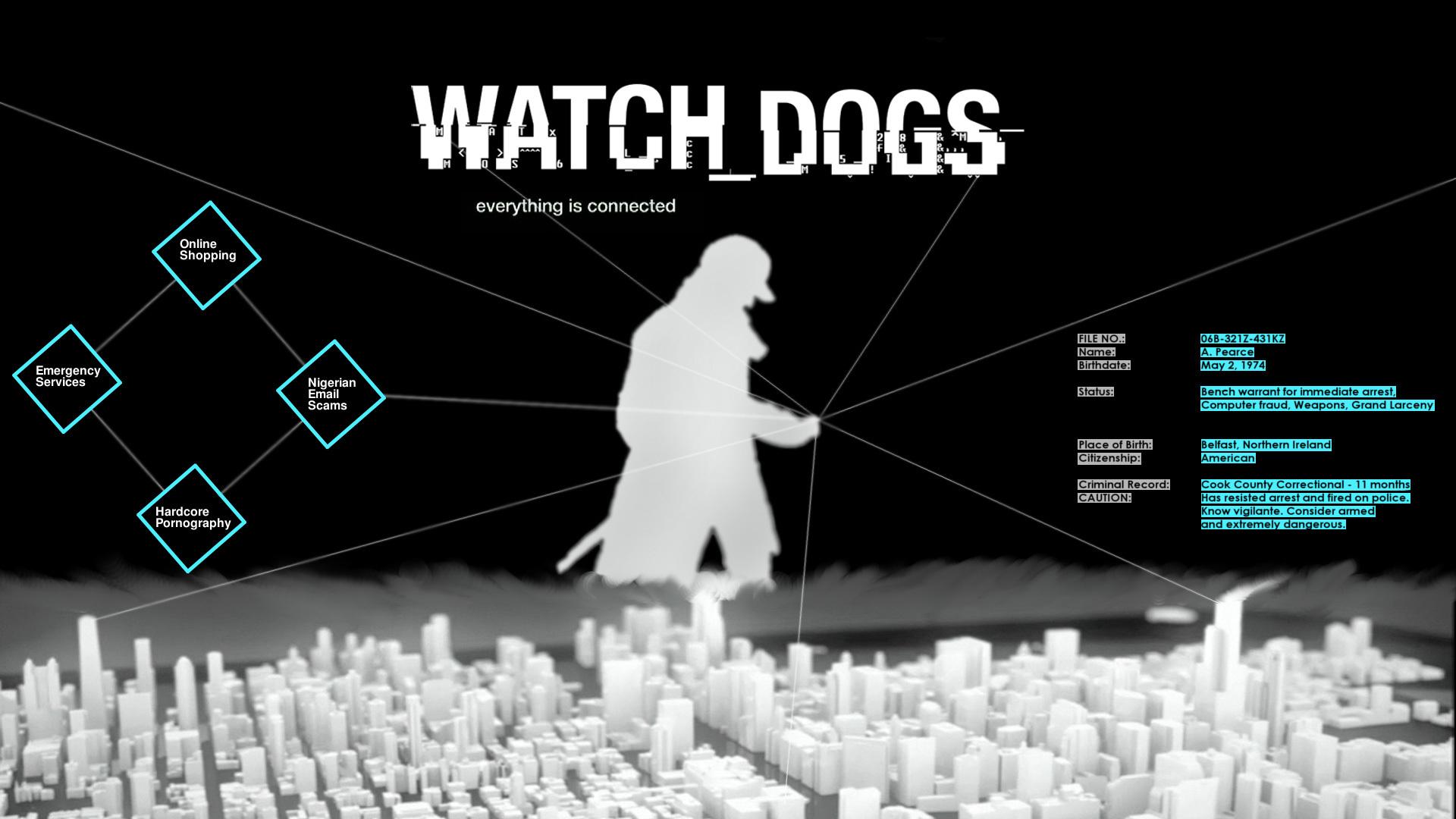 18477 télécharger le fond d'écran Jeux, Watch Dogs - économiseurs d'écran et images gratuitement