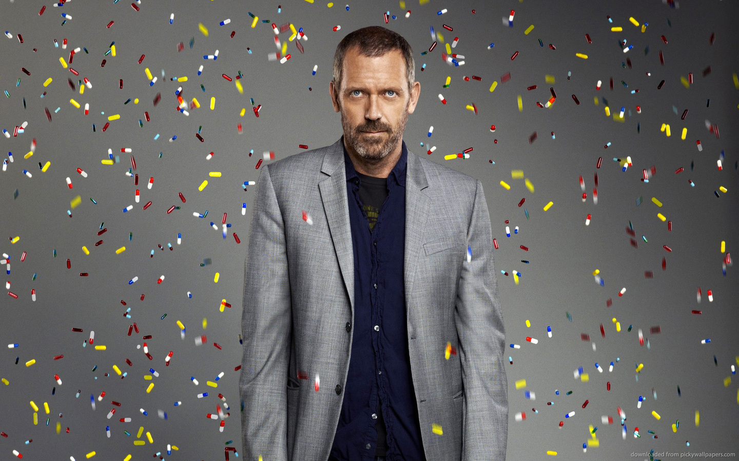 18036 download wallpaper Cinema, People, Actors, Men, House M.d., Hugh Laurie screensavers and pictures for free