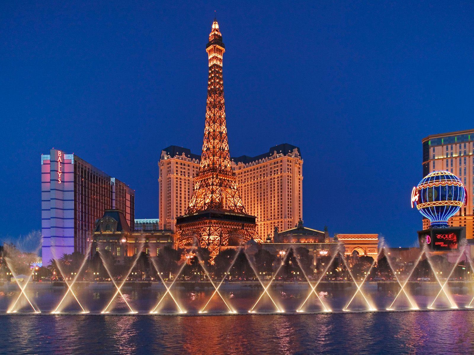 12841 скачать обои Города, Ночь, Архитектура, Лас Вегас (Las Vegas) - заставки и картинки бесплатно