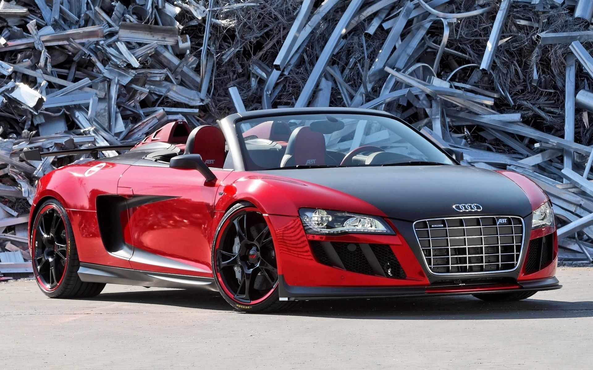 155562 descargar fondo de pantalla Coches, Audi R8, Audi, Cabriolé, Cabriolet, Vertedero, Vista Frontal: protectores de pantalla e imágenes gratis