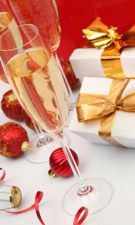 14032 descargar fondo de pantalla Vacaciones, Comida, Año Nuevo, Navidad, Bebidas: protectores de pantalla e imágenes gratis