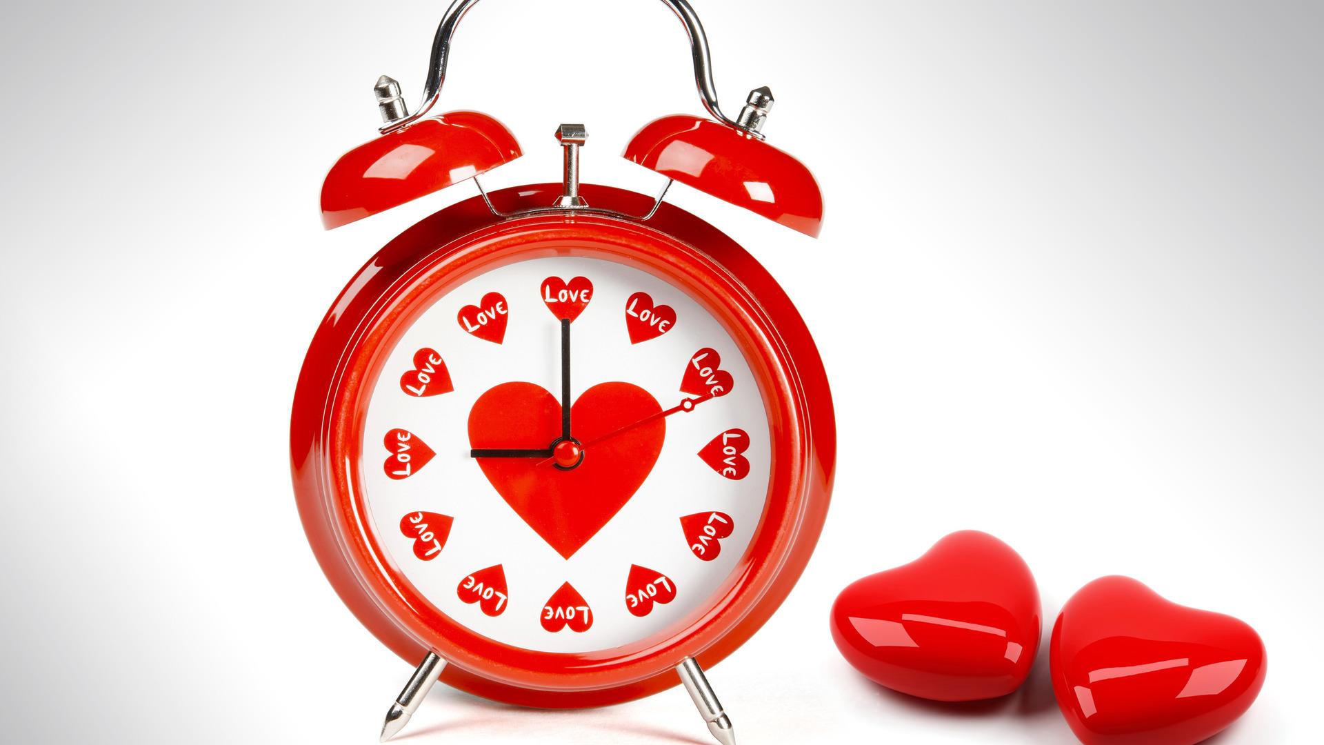 23637 descargar fondo de pantalla Corazones, Objetos, Amor, Reloj: protectores de pantalla e imágenes gratis