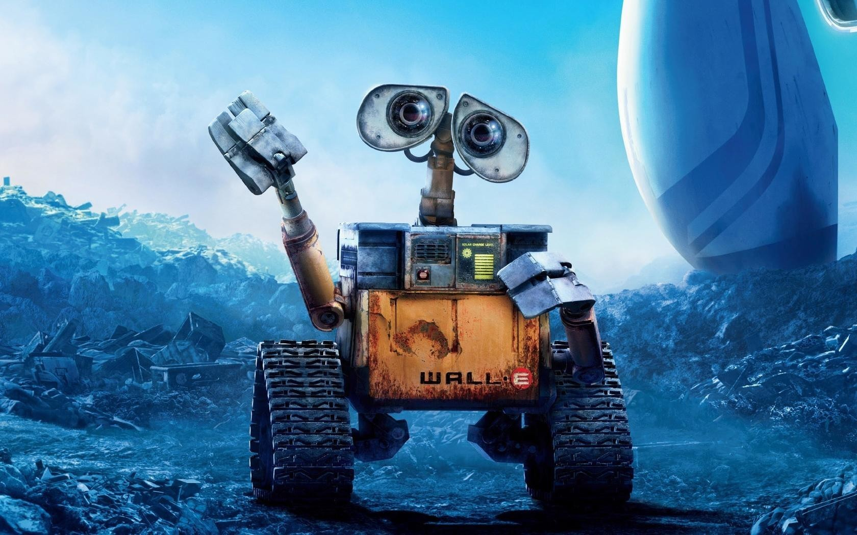 21524 download wallpaper Cartoon, Wall-E, Walt Disney screensavers and pictures for free