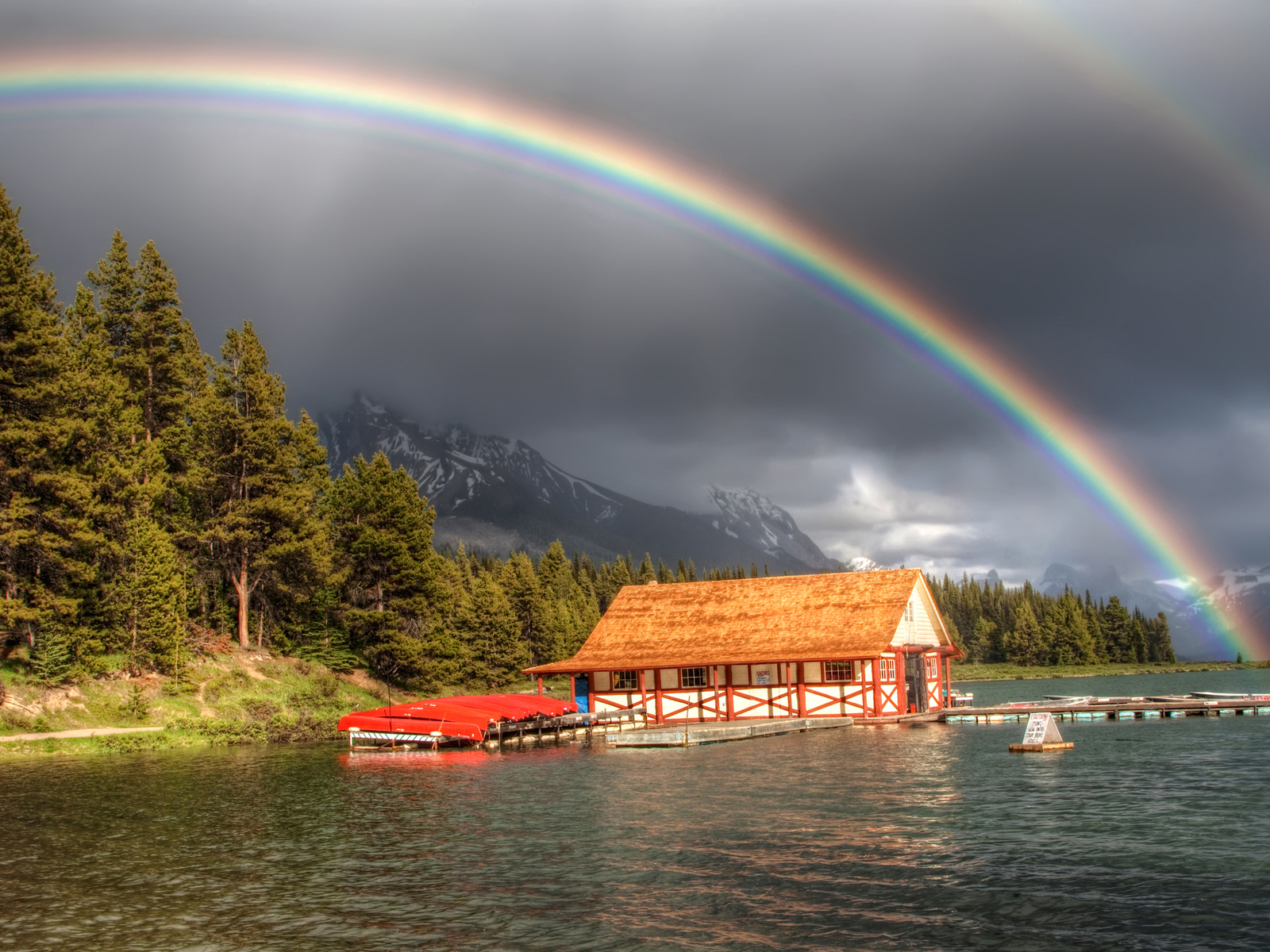46471 免費下載壁紙 景观, 性质, 彩虹 屏保和圖片