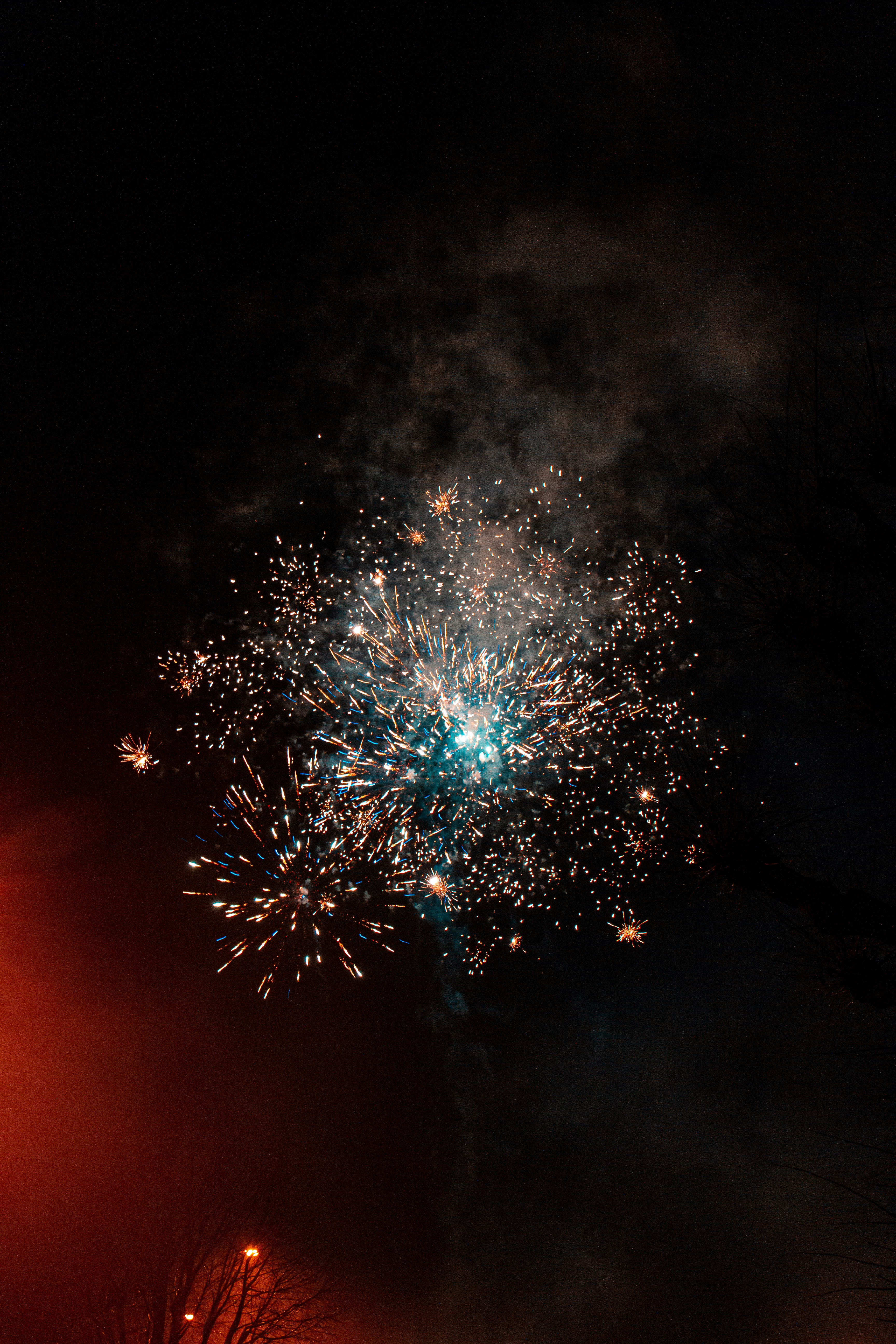 61320 Screensavers and Wallpapers Sparks for phone. Download Holidays, Sky, Smoke, Night, Sparks, Fireworks, Firework pictures for free